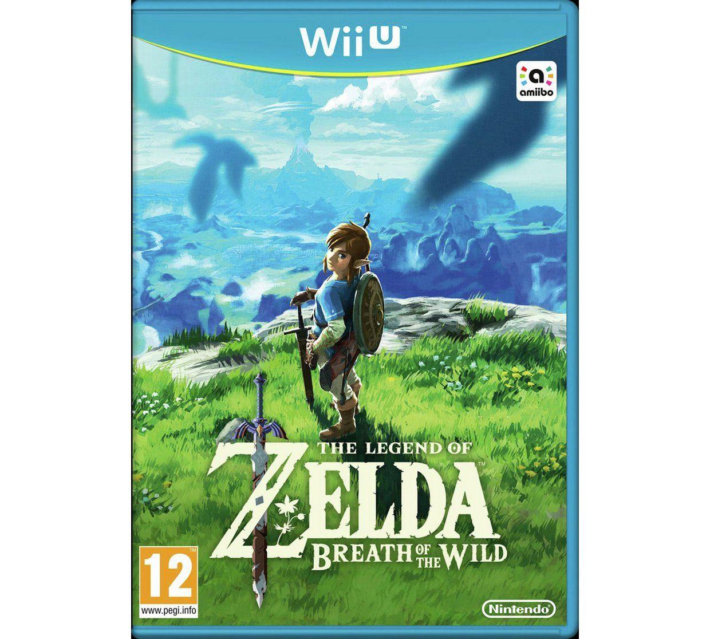 Legend of Zelda: Breath of the Wild Wii U Game £24.99 @ argos see op