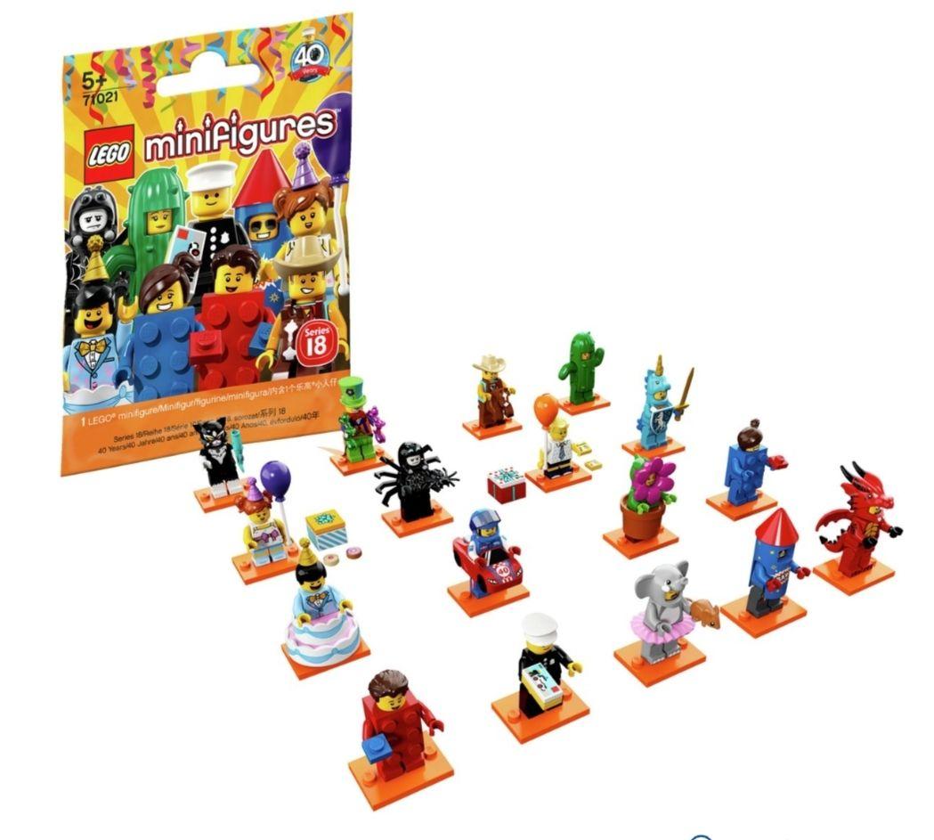 LEGO 71021 Series 18 Minifigures £1.49 Argos