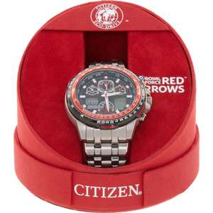 Citizen Eco-Drive Men's Red Arrow Skyhawk Watch Limited Edition £249.99 TK Maxx