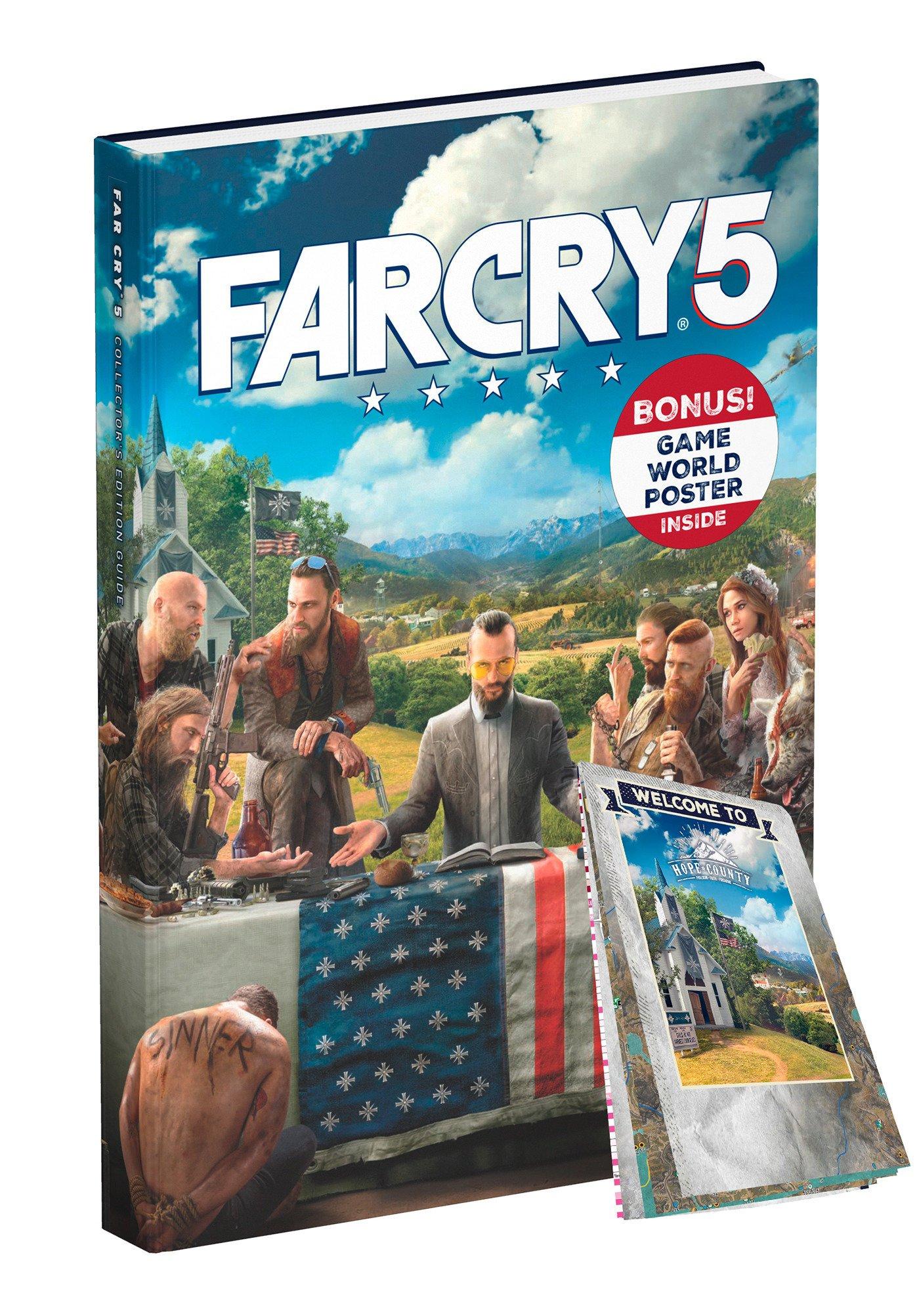 Far Cry 5 Guide (Collectors Edition)  Hardcover  £6.82 @ Amazon Prime (+£2.99 for non prime delivery)