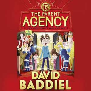 Audible Daily Deal 'The Parent Agency' by David Baddiel, £2.99