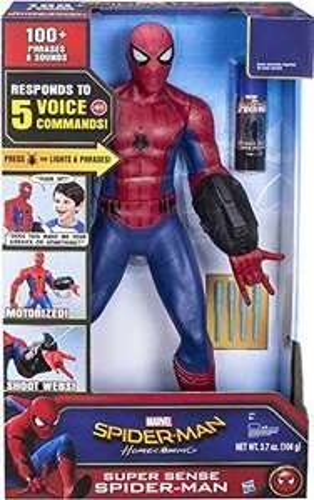 Spider-Man Marvel Homecoming Super Sense Figure, £19.99 at Home Bargains