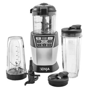 Ninja NN100UK Auto-iQ 1200W Ultimate Chopper, Blender & Mini Food Processor ; down from £149.99 to £49.99 @ Ninja Kitchen. Topcashback & Quidco 5%+ and ninja 10 gives 10% off if you spend £70 +