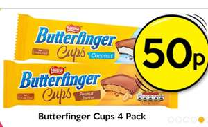 Half Price Butterfinger Cup's 50p @ Poundland