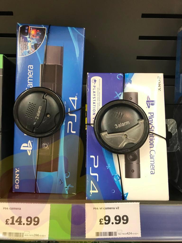 Playstation v2 camera £9.99. V1 £14.99 instore @ Sainsbury's