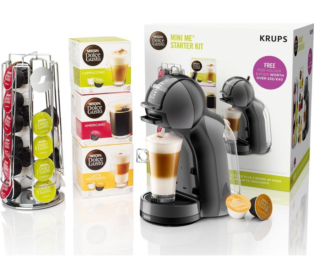 DOLCE GUSTOby Krups Mini Me KP128BUN Coffee Machine Starter Kit - £54.99 @ Currys