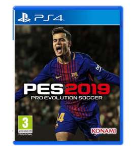 PES 2019 on PS4 / XBOX ONE/ PC £34.85 Base.com