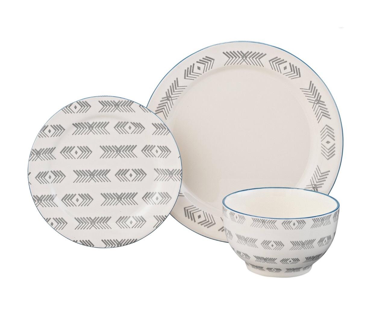 HOME Kilim 12 Piece Stoneware Dinner Set £11.49 Argos (free C&C)