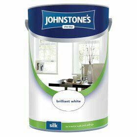 Johnstone's brilliant white Matt emulsion paint 5 litre £8 @ Asda