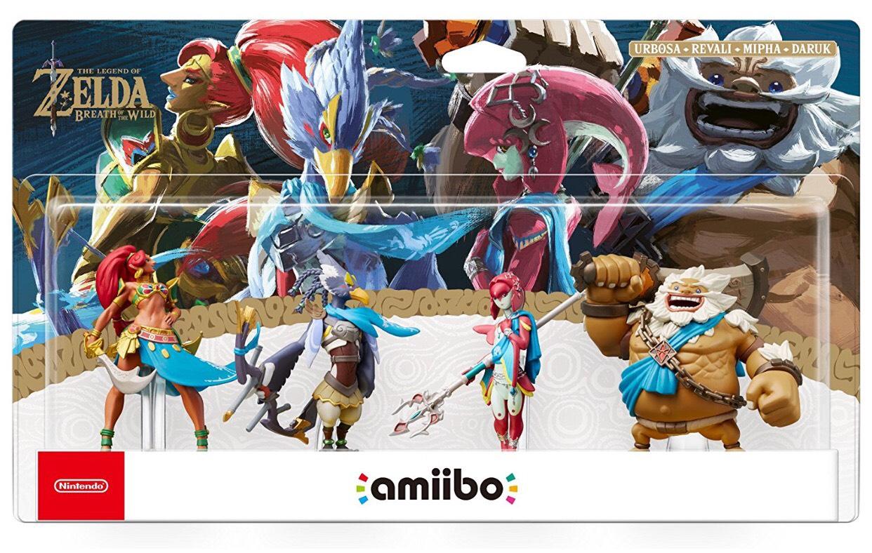 The Champions Amiibo - The Legend of Zelda: Breath of the Wild Collection (Nintendo Wii U/Nintendo 3DS/Nintendo Switch) £49.99 @ Amazon