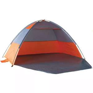 UV Protected Beach Shelter Tent with Zip Door  £13.50 with code free Click & collect @ The Works