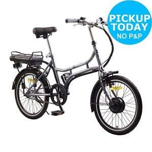 Cheap electric bikes at Argos ebay - from £399.99 for E-Plus 20 Inch Wheels Electric Bike