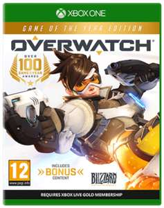 Overwatch - Game Of The Year Edition - Xbox One / PS4 - £14.99 @ GAME