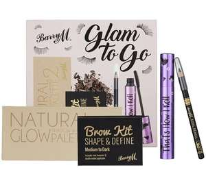 Barry M Cosmetics Glam to Go Eye Kit (was £14.99) Now £7.99  + lots more Barry M sets reduced at Argos