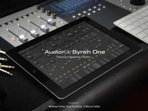 AudioKit - A fully functional open source iPad Synth - free on iTunes