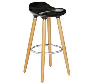 Hygena Bay Bar Stool - Black ( Silver & White Available ) Please see description for links - £21.99 @ Argos