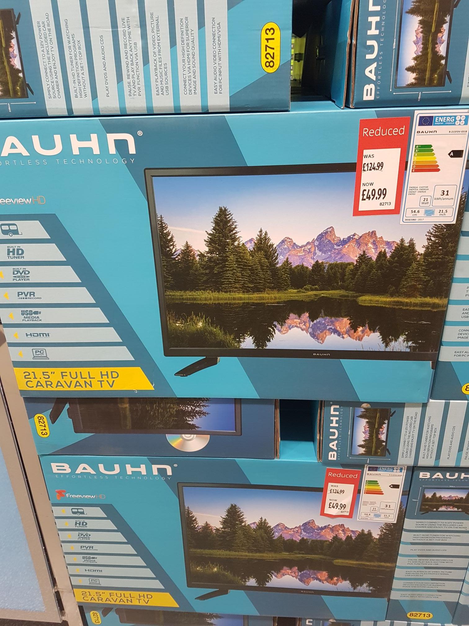 """Bauhn 21.5"""" Caravan TV/DVD. Aldi - £49.99 instore"""