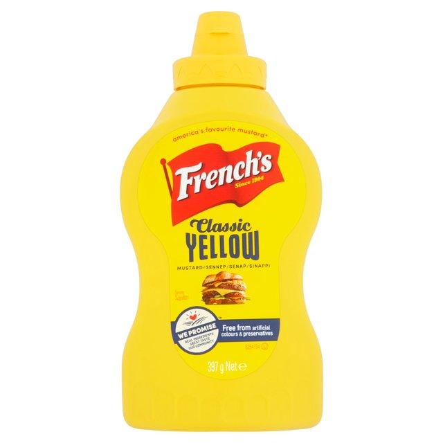 French's Classic Yellow Mustard - JUMBO 397g - ASDA National £1