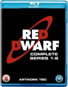 Red Dwarf Series 1-8 on Blu-Ray in HD with free delivery  (pre-order delivered 2/10/18) - £34.99 @ Zavvi
