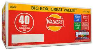 40 pack Walkers Variety Box £3.58 @ Costco from Monday 16th July