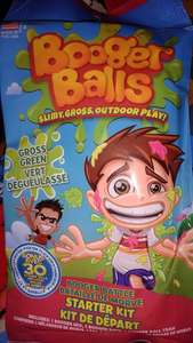 Booger Balls Starter Kit (Booger Mix, Booger Bath, Booger Ball Tray), 3 Colours, £1 In Store @ Poundland