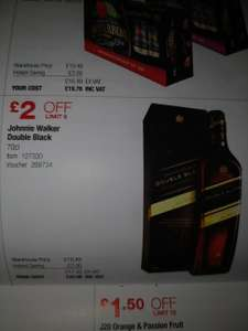 Johnnie Walker Double Black 70cl (Costco) £20.98
