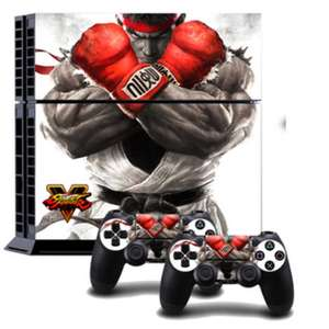 Street Fighter V PS4 Vinyl Skin £1.99 @ Game + Free Delivery