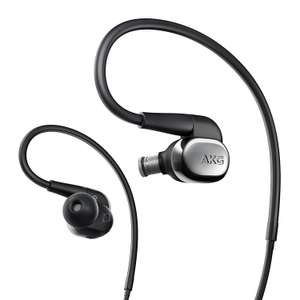 AKG N40 High-Resolution In-Ear Headphone with Customisable Sound - Black/Silver (Used - Like New) £170.35 Amazon Warehouse