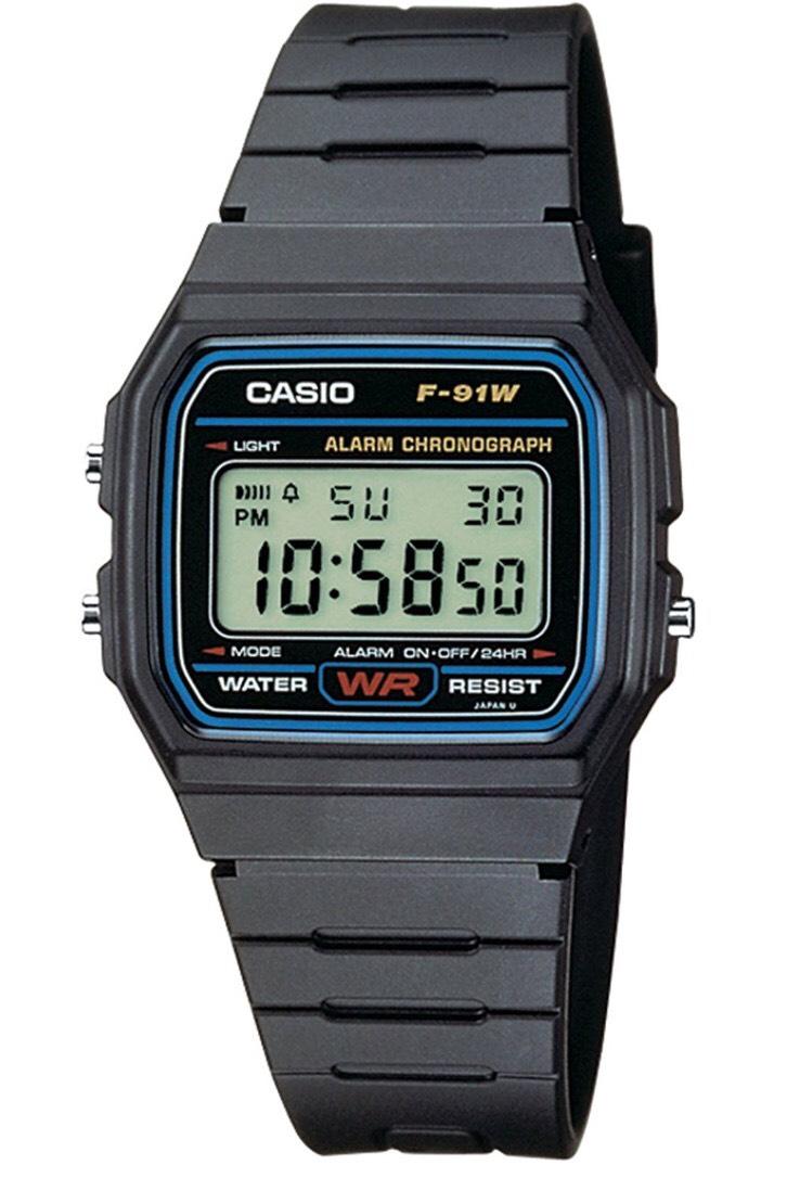 Casio F91W men's retro watch £5.99 ebay /  sr-gadgets