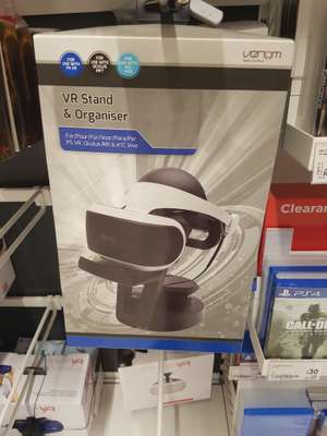 PS4 VR universal stand reduced to £10 from £18 asda hunts cross