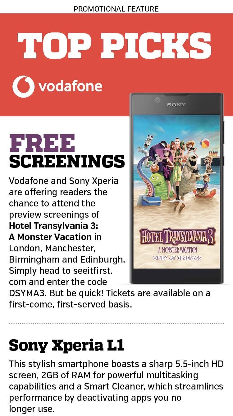 Free cinema screening of Hotel Transylvania 3