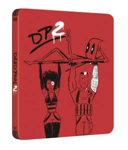 Deadpool 2 (hmv Exclusive) 4K Ultra HD Limited Edition Steelbook (Pre-Order) £29.99 with free delivery HMV