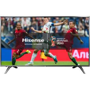 "Hisense H60NEC5600 60"" Smart 4K Ultra HD Certified TV with HDR and Freeview Play - Dark Grey - [A Rated]With free delivery £599 @ ao.com"