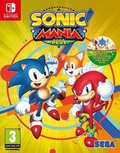 Sonic Mania Plus Pre-Order (Switch PS4) £21.95 @ Coolshop