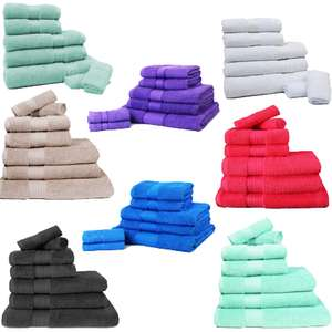 Restmor 500gsm 100% Egyptian Cotton 7 Piece Towel Bales £17.98 Delivered @ IWOOT (Lots of colours to choose from)