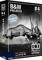 Black & White projects 4 elements Free @ GiveAwayOfTheDay