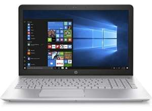 """HP Pavilion 15-cc598na Full HD 15.6"""" Laptop Silver Edition, Core i3 7th Generation, 4GB DDR4 Ram, 1TB HDD - £291.52 with code @ HP"""