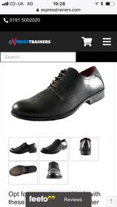 Men's leather Red Tape Wooler smart black lace up shoes £8.99 delivered at express trainers with code sale20 (uk 7 8 9 & 10 at time of listing)