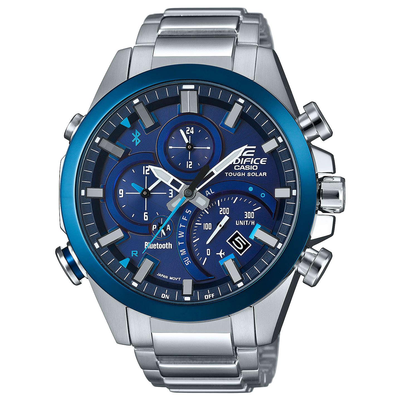 Casio Men's Edifice Solar Chronograph Date Bracelet Strap Watch, £97.50 at J Lewis