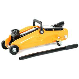 Halfords 2 Tonne Trolley Jack Short Wheel Base - £19.79 @ Halfords. This price until midnight