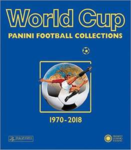 Panini World Cup Collections 1970-2018 Paperback (Pre order) - £22 @ Amazon