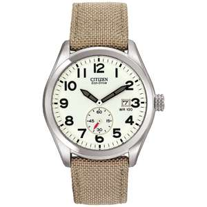 Citizen BV1080-18A Men's Sport Eco-Drive Fabric Strap Watch, £84.50 at J Lewis