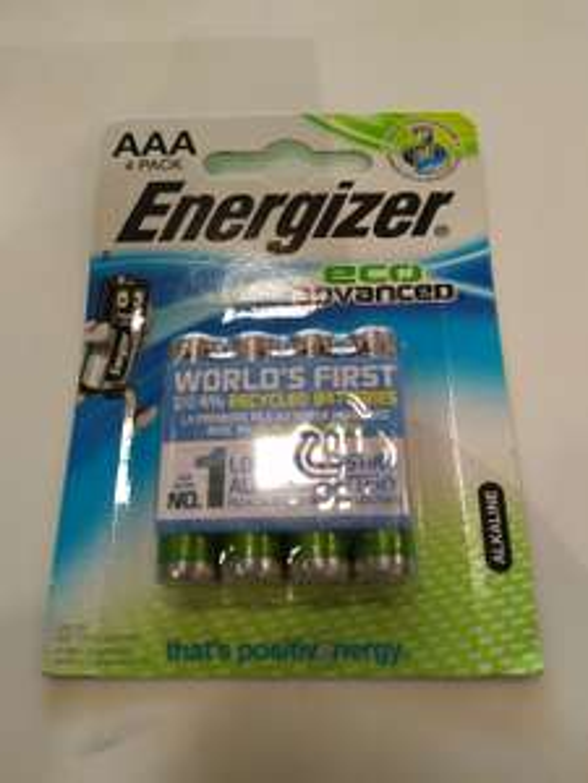 Energizer aaa batteries in wilko - 50p