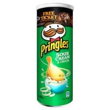 Pringles Various flavours 130gr size £1 @ Tesco