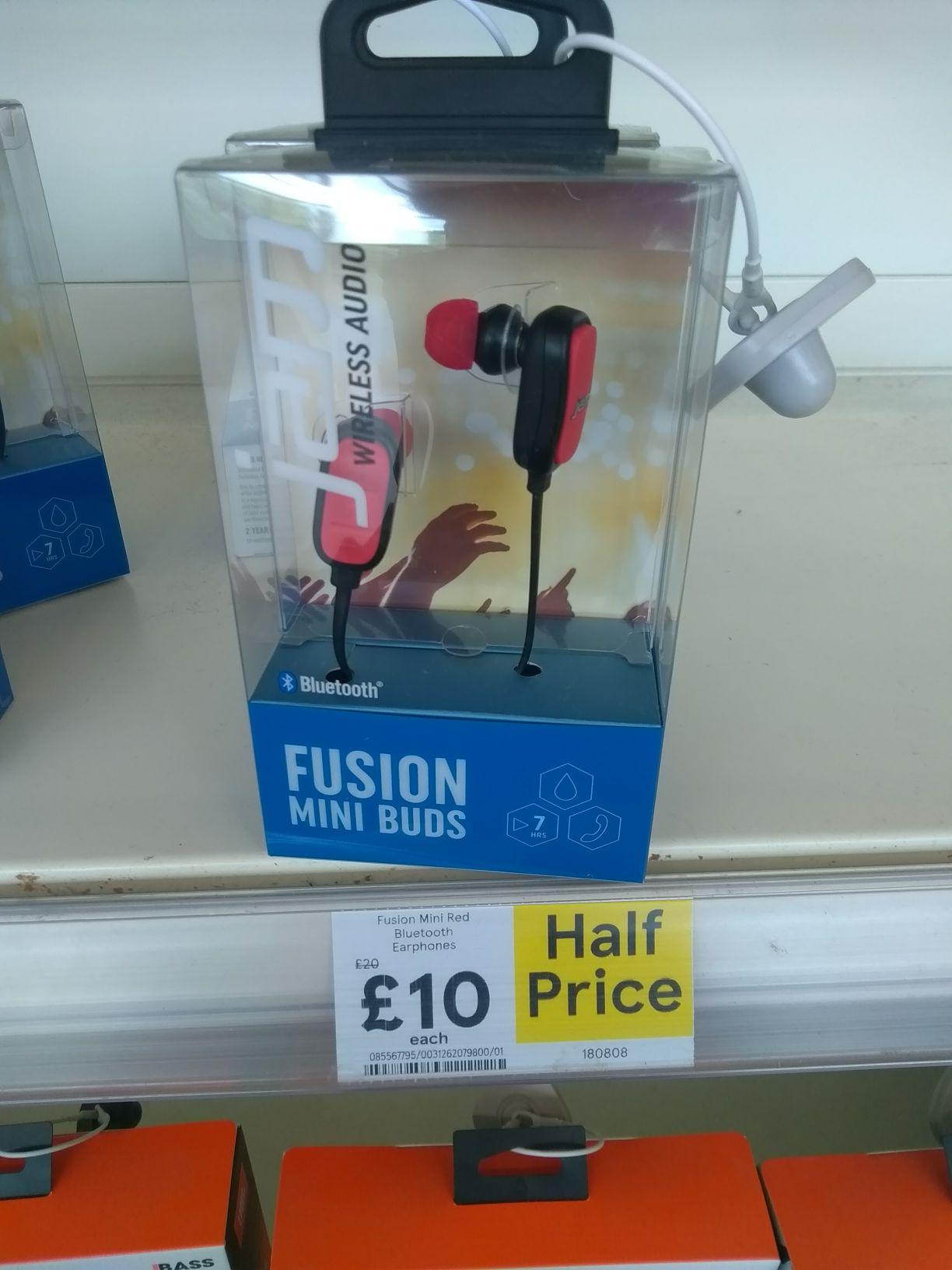 Jam Fusion Bluetooth headphones instore at Tesco (Pontardawe) for £10