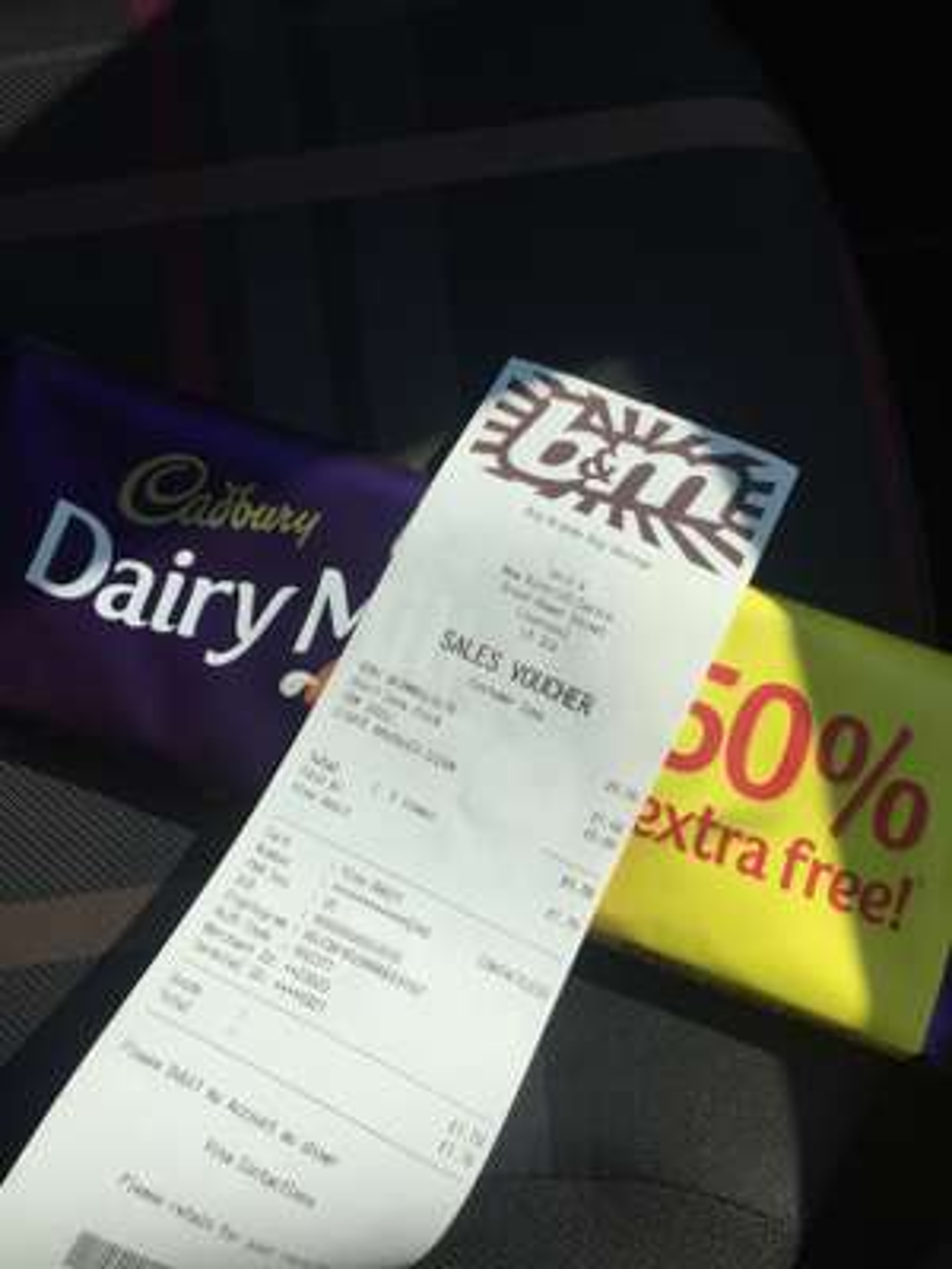 Cadbury's Dairy Milk 300G Large bar only £1 @ B&M Instore