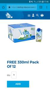 FREE Vita Coco coconut water. 330ml × 12 bottles