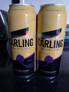 Carling Dark Fruits lager 4x500ml cans - £2.99 @ Home Bargains