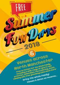 Free Summer Fun days for kids (Manchester Area) - Wall Climbing, Inflatables, Face Painting, Sporting Activities, Music + More