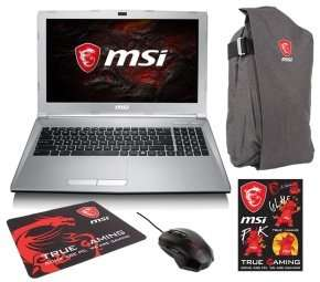 MSI PL62 7RC Gaming Laptop + Bundle Pack - Includes Grey Backpack, Mouse mat, Mouse + Stickers with this product £499.98 @ Ebuyer